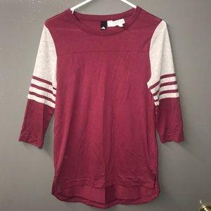 Adidas 3/4 Sleeve shirt